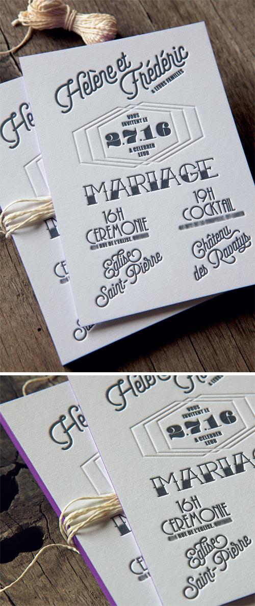 Inspiration Tatouage Pour Cette Inviation De Mariage Imprimee Sur Papier Coton Epais 600g Tattoo Spirit
